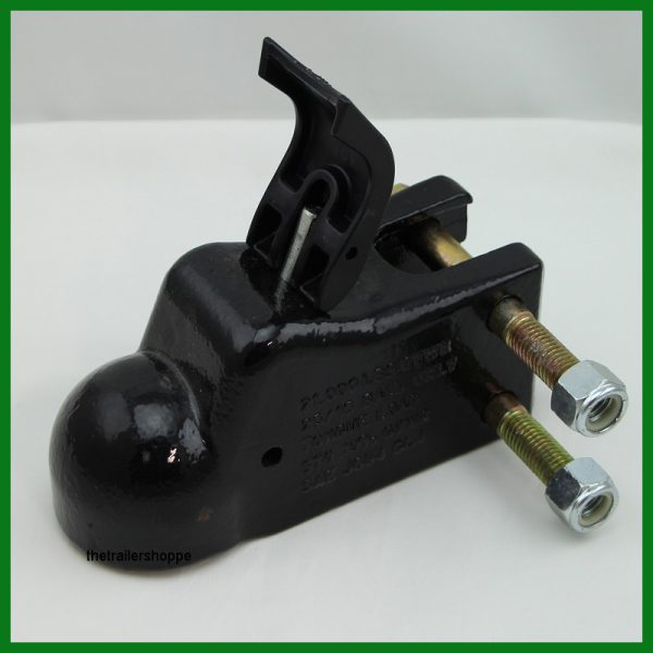 """Adjustable Coupler Hitch Trailer 2 5/16"""" with EZ Latch"""