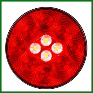 """Combo 4"""" Round Stop Turn Tail & Back Up 13 LED"""
