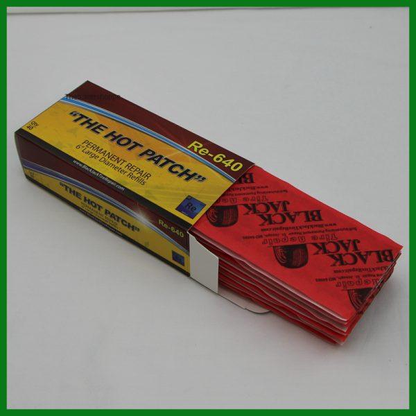 """BlackJack Tire Repair 6"""" Large Diameter Plugs -40 per box"""