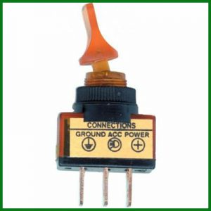 Amber Glow Duck Bill Toggle Switch