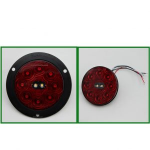 """Combo 4"""" Round Stop Turn Tail & Back Up 10 LED"""