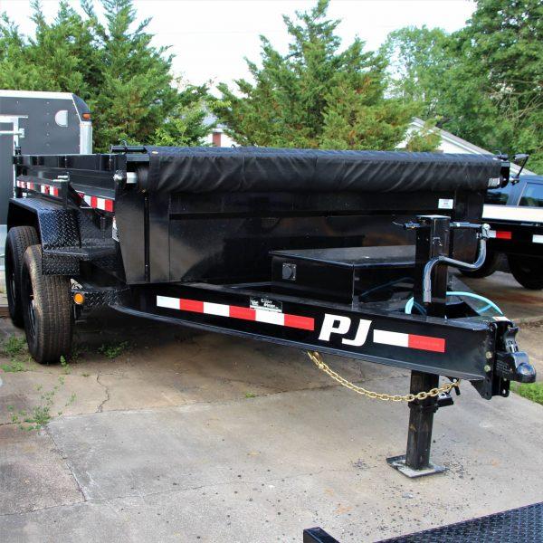 PJ 7X12' Dump Trailer