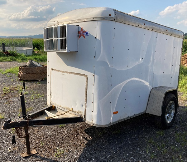 5X8 Insulated Enclosed Trailer
