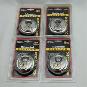 """California Immobilizer Padlock With 3/8"""" Shielded Shackle"""